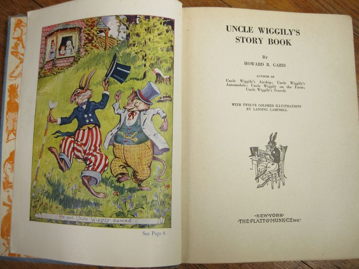 Uncle Wiggily Story Book--I think this was my dad's. He used to read it to me when I was little, and I loved the illustrations.
