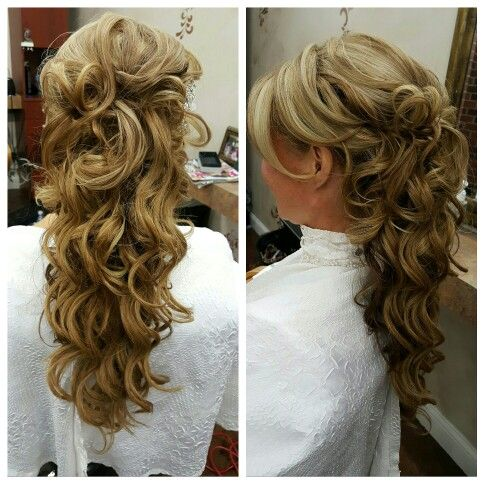 Hair by Heather west with Wedding Hair Anywhere and Euphoria salon and spa
