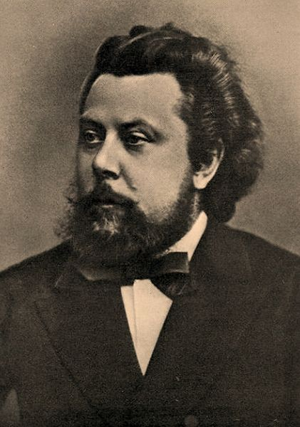 "Modest Musorgskiy- Russian Composer. One of my personal favorites, ""Night on Bare Mountain""."