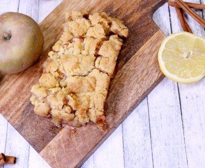 Le crumble aux pommes du Chat qui Tousse : Recette de Le crumble aux pommes du Chat qui Tousse - Marmiton