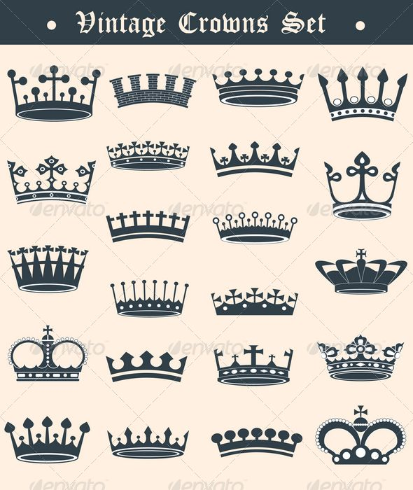 Vintage crowns set  #GraphicRiver         Vintage crowns set Files included: AI CS3 , EPS , and Transparent PNG . AI & EPS vector files 100% fully editable and layered.     Created: 18June12 GraphicsFilesIncluded: TransparentPNG #VectorEPS #AIIllustrator Layered: Yes MinimumAdobeCSVersion: CS Tags: abstract #art #background #black #classic #collection #crown #design #elegance #element #graphic #icon #illustration #imperial #king #medieval #nobility #set #sign #symbol #vector #vintage