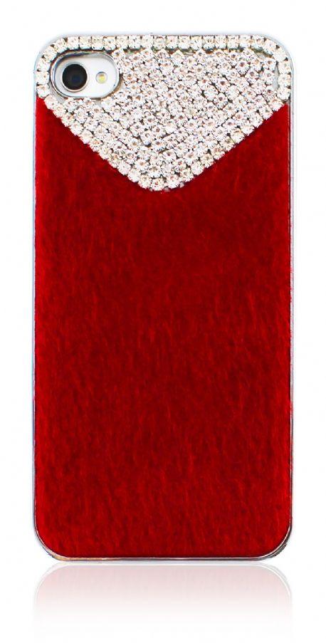 iPhone 4/ 4S Case #red #rubber #case #mobilecase #kilif #kirmizi