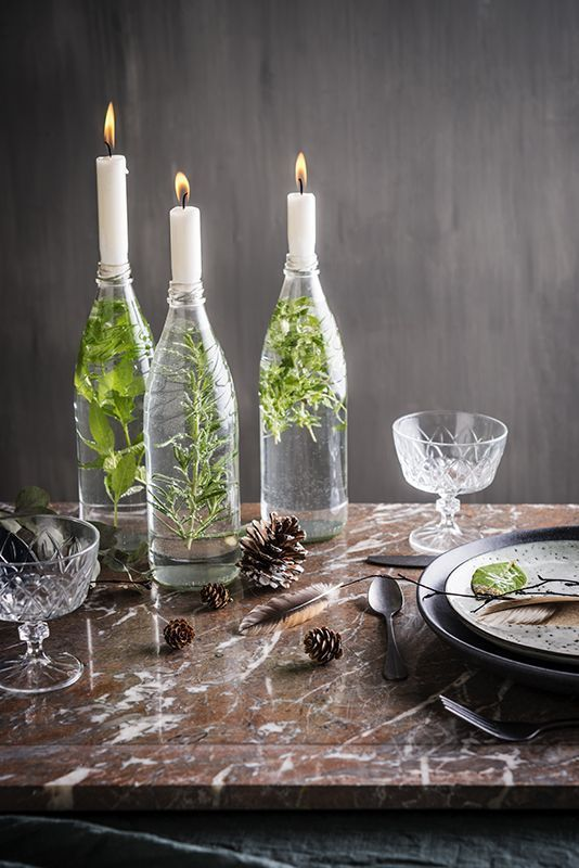 How to decorate your Christmas table! #dekorationsdiy