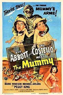 Abbott and Costello Meet the Mummy - 1955