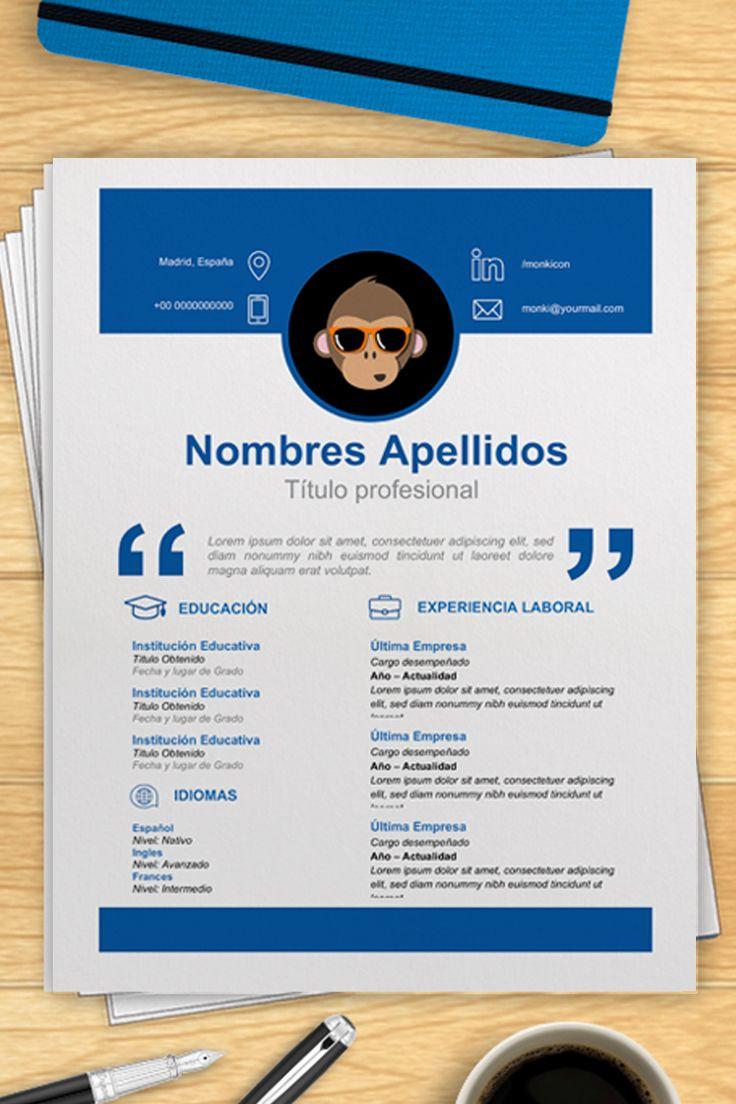 Modelo De Curriculum Para Rellenar En Word Cv Linkedin Best Free Resume Templates Resume Template Free Resume Examples