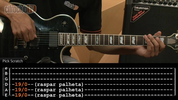 Highway To Hell - AC/DC (aula de guitarra completa) #griffstyle