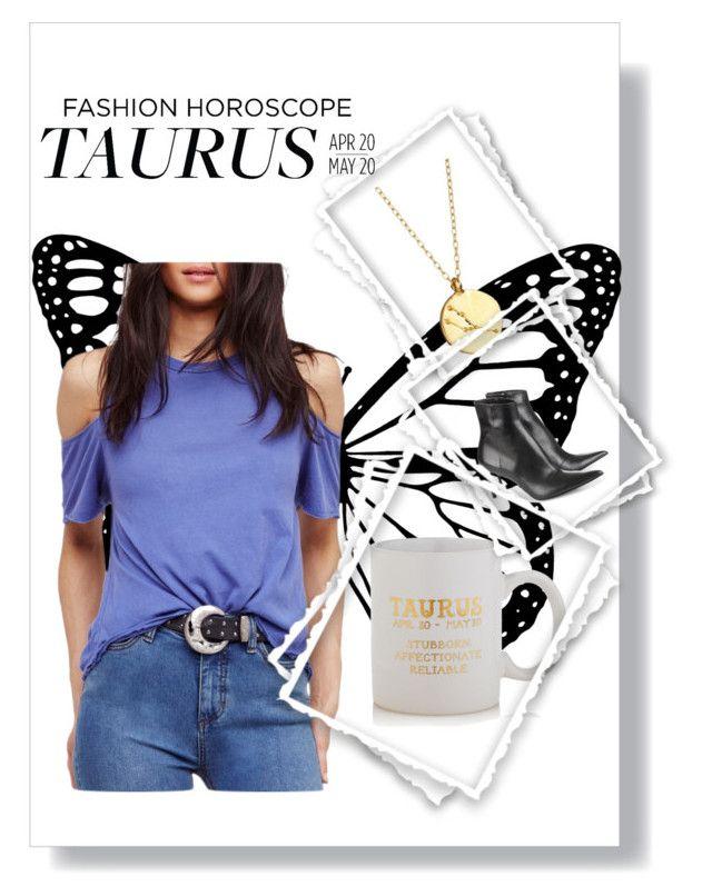 """Fashion Horoscope~ Taurus (Me!)"" by habubzza ❤ liked on Polyvore featuring Chupi, Sparrow & Wren, Free People and Haider Ackermann"