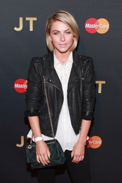 Julianne Hough at Justin Timberlake Premiere at Roseland Ballroom in NYC on May 5, 2013