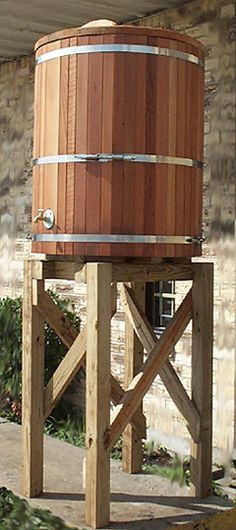 Custom Rain Barrels | Rain Barrel Water Storage Tanks