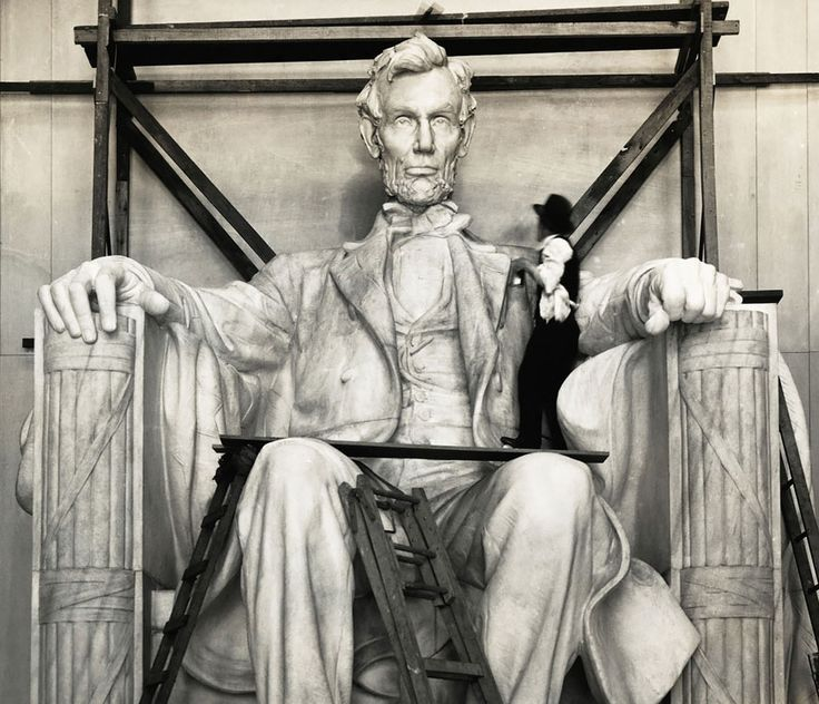 Как это было: исторические фотографии знаменитого Мемориала Линкольна » Большие фото новости