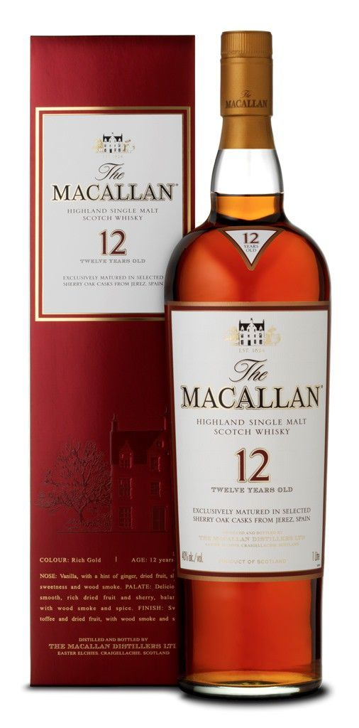 The Macallan Whisky Sherry Oak 12 Jahre 0,7 Liter