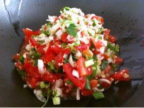 野菜たっぷり モロッコサラダ