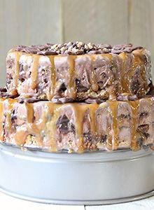 Pretzel Crisps® Ice Cream Cake - Pretzel Crisps®