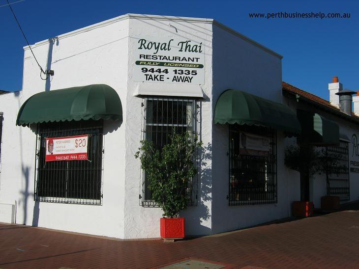 Royal Thai Restaurant Leederville.