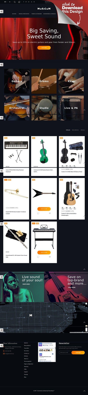 Template PrestaShop Responsive #64882 per Un Sito di Negozio Musicale Modelli E-commerce, Temi Prestashop, Template Arte e Cultura, Template Musica   Template PrestaShop per Un Sito di Negozio Musicale. Funzionalità aggiuntive, documentazione dettagliata e immagini stock incluse.