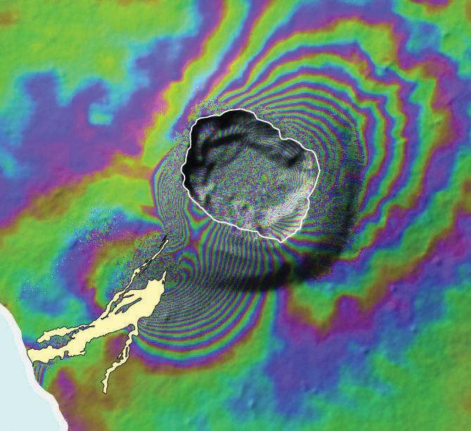 ESA: Fernandina Volcano
