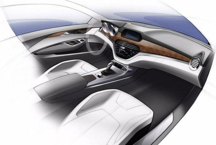 Car Interior Design >> Diseño Automotriz Interior | Diseño Automotriz | Pinterest | Car interiors and Interior sketch