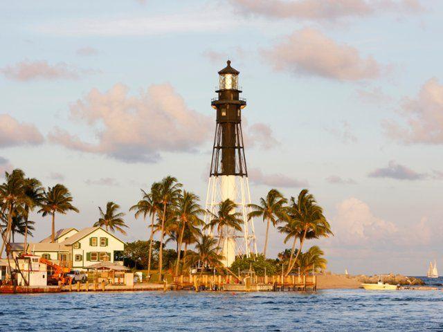 Hillsboro Inlet Lighthouse, Miami, Florida