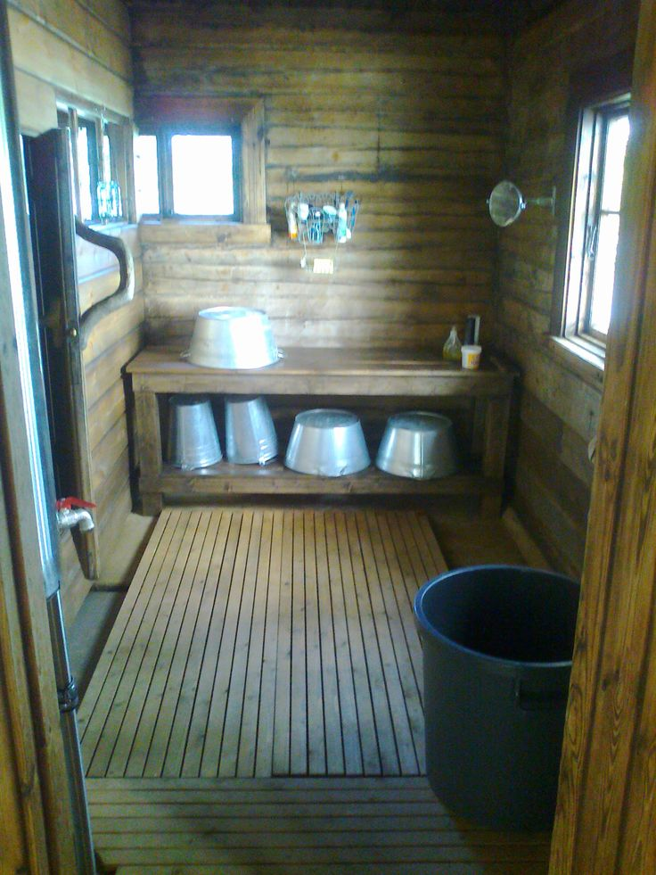 Tradional Finnish sauna