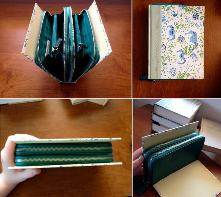Amazing DIY Wallet Ideas DIY Book Clutch