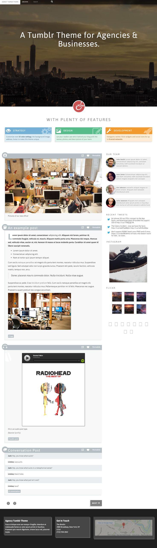Google themes video - Agency Is Premium Responsive Tumblr Business Theme Video Background Bootstrap Framework Retina Ready