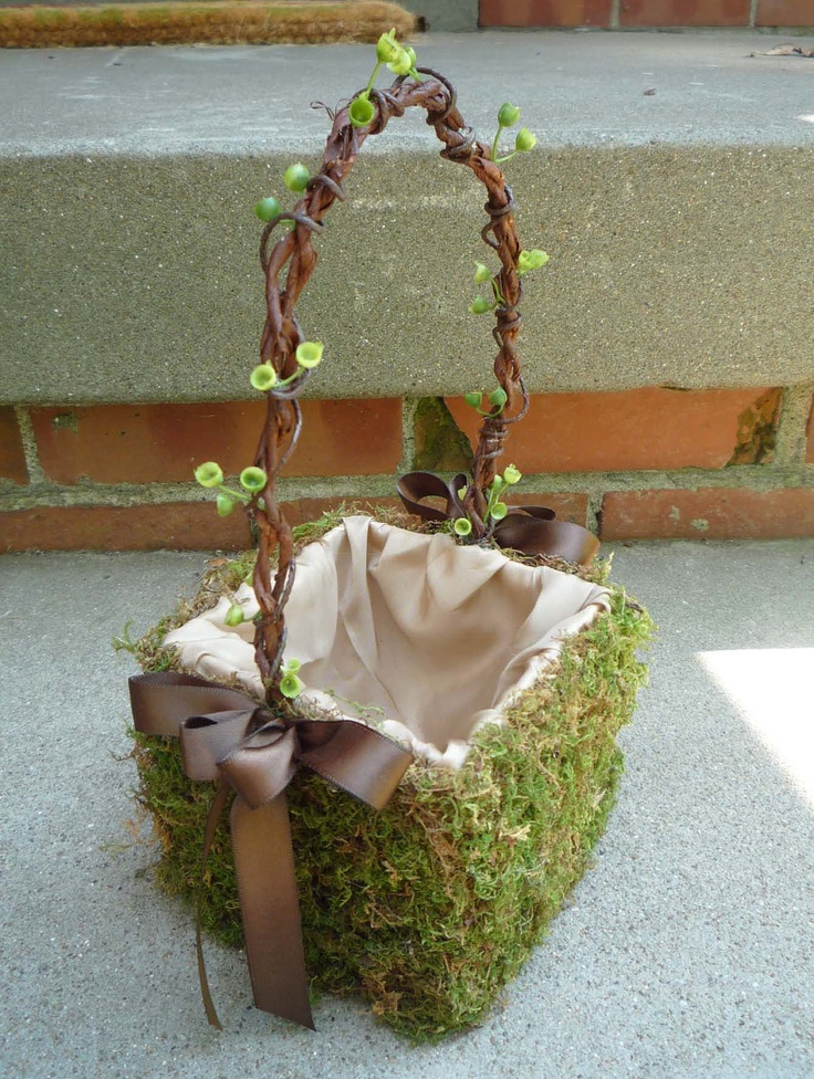 Flower Girl Baskets Small : Best images about flower girl baskets on