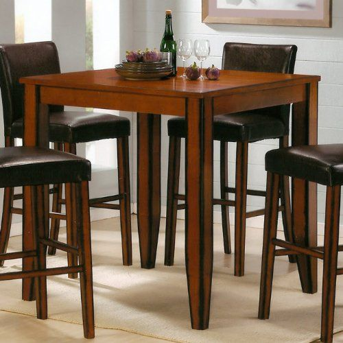 Fresh Rectangular Pub Table with Stools