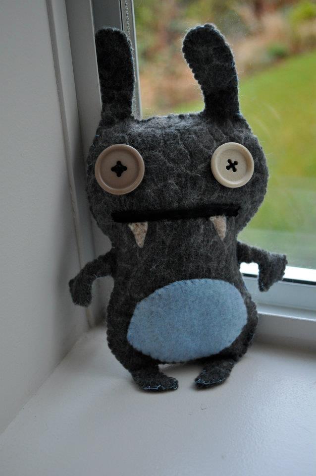 Handmade Monster Stuffy