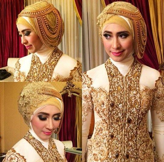 Make up by zahratul jannah #wedding #brides #makeup