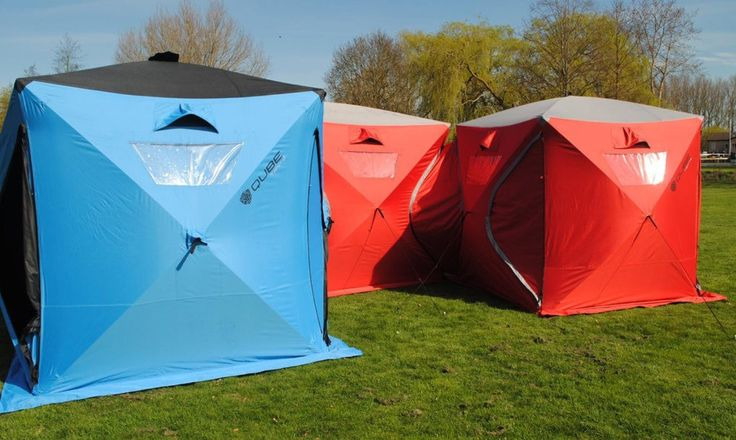 Modular Qube Tents snap together to create giant c&ing forts. : new tent designs - memphite.com