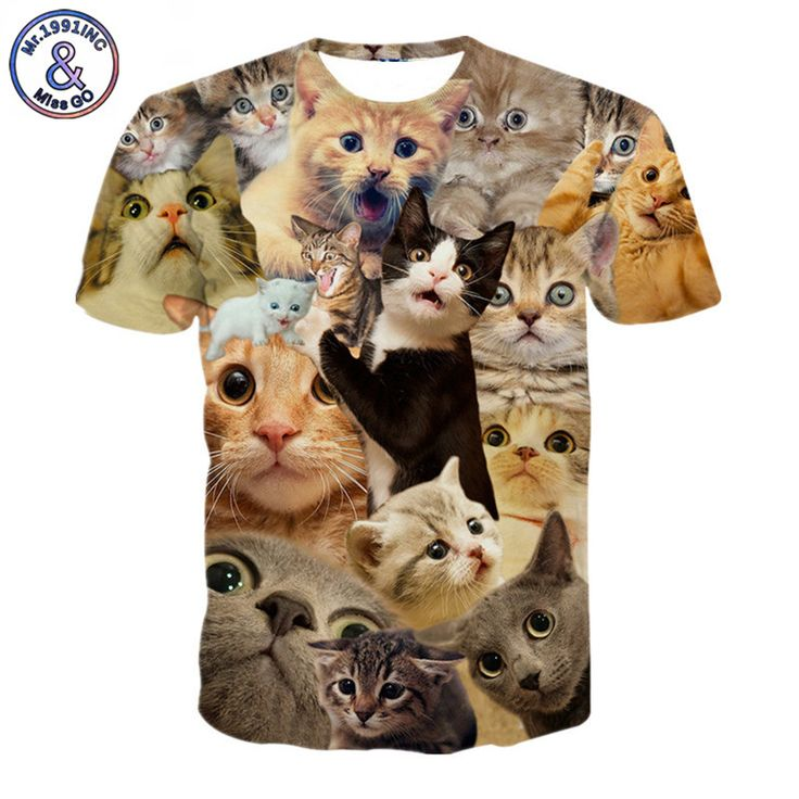 Cool Cat Design T Shirt //Price: $40.71 & FREE Shipping //     #animals #petworld #ilovemycat #catoftheday