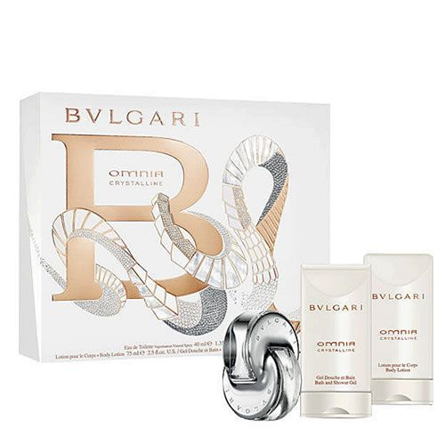 #BVLGARI OMNIA CRYSTALLINE 3 PCS GIFT SET FOR WOMEN You can find this @ www.PerfumeStore.sg / www.PerfumeStore.my / www.PerfumeStore.ph / www.PerfumeStore.vn