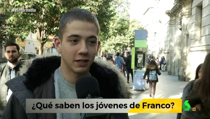 ¿Qué saben los jóvenes de Franco? Entrenamiento a la CO