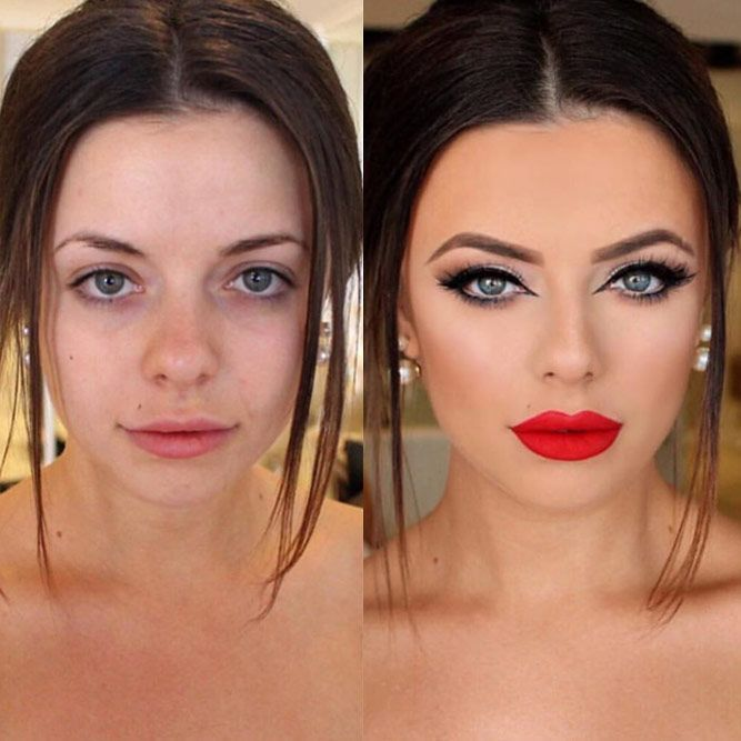 24 Incredible Before And After Makeup Transformations