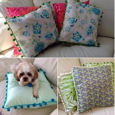 Prices of our cushions: Size - 41cm by 41cm. Plain custom covers - $10 (no insert - cover only) Decorative covers (includes some lace or bobbles) - $14 - (no insert - cover only) Inserts are usually about $5.99 at Spotlight - I can grab them...