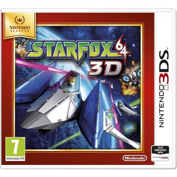 Star Fox 64 3D Game 3DS (selects)   http://gamesactions.com shares #new #latest #videogames #games for #pc #psp #ps3 #wii #xbox #nintendo #3ds