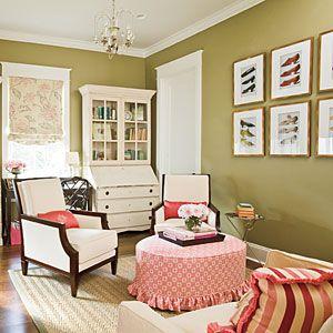 Living Room Decorating Ideas: Showcase Antiques < 101 Living Room Decorating Ideas - Southern Living Mobile