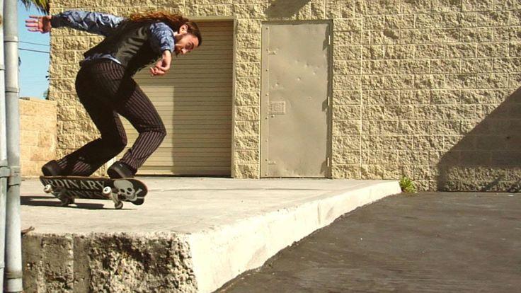 Skateboarder Richie Jackson Performs Innovative Tricks