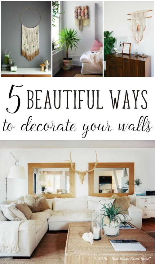 Inspirational Tips for Decorating Your Home