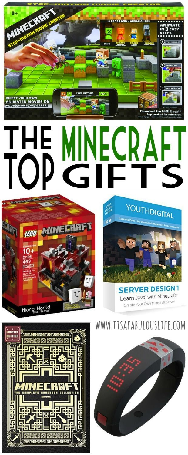 Minecraft Gift Ideas --  My son is going to love these!!
