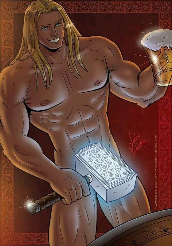 from Kason gay thor cartoon