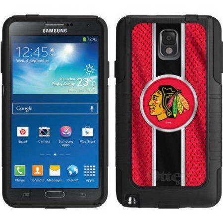 OtterBox Commuter Series Coveroo NHL Case for Samsung Galaxy Note 3, Black