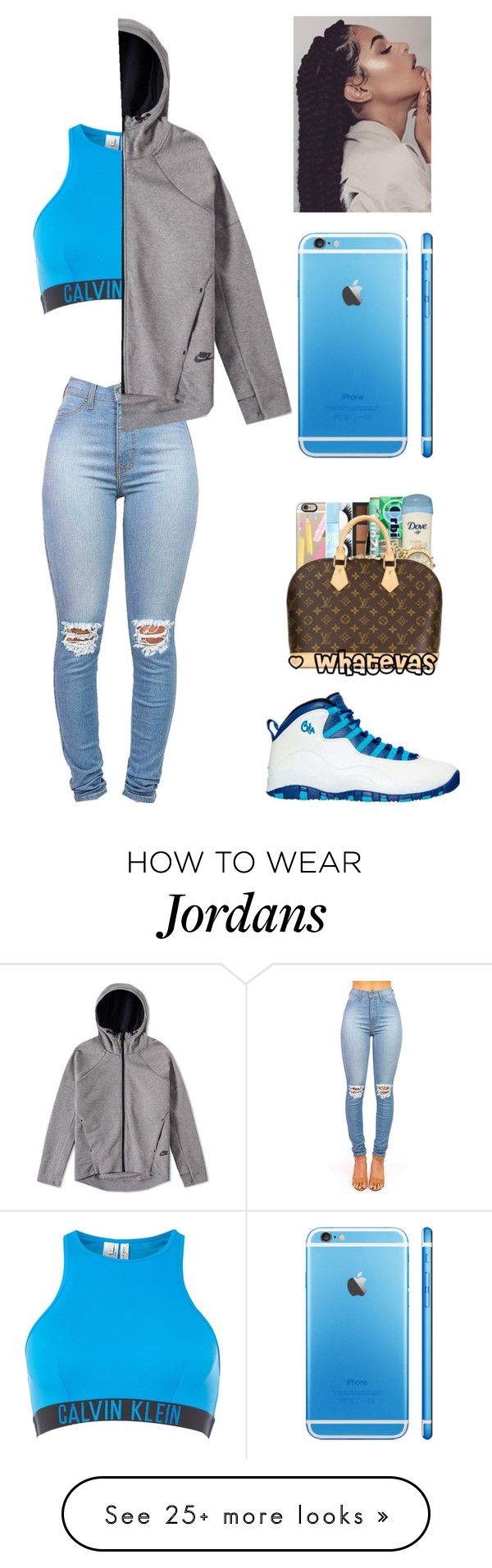 """lamborghini outside ."" by qveenkyndall16 on Polyvore featuring Calvin Klein and NIKE"