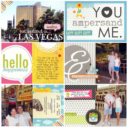 Sheri reguly _ our weekend in las vegas _ project life
