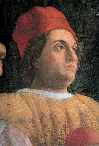Andrea Mantegna, Decoration of the Camera degli Sposi (Gianfrancesco Gonzaga), 1465 - 1474 Palazzo Ducale, Mantua