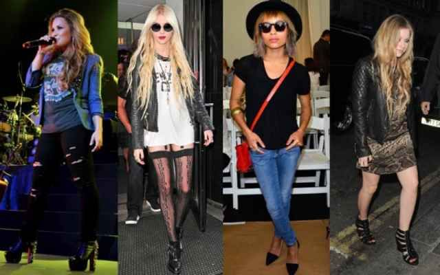 Rocker chic fashion guide