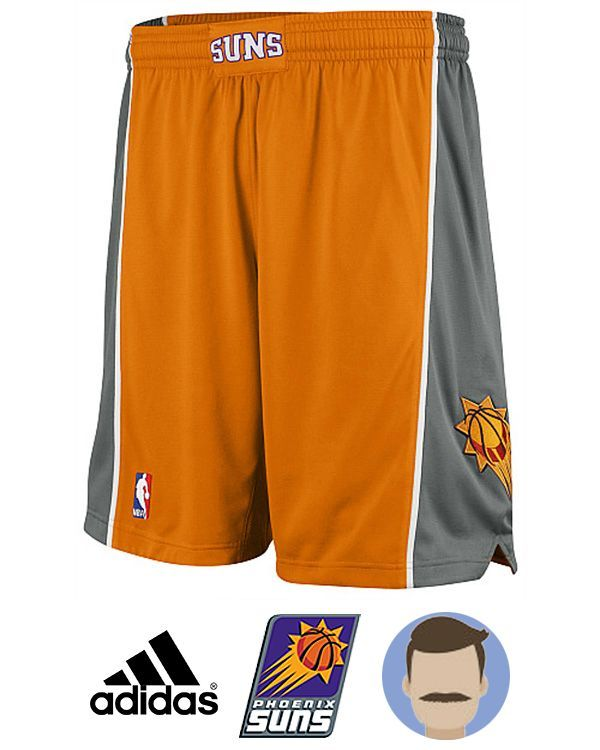 Show your passion for Phoenix Suns everywhere with Men's Adidas Phoenix Suns Orange Revolution 30 Swingman Shorts in the front of friends, Everyone wanna be the biggest Phoenix Suns fan around with any NBA gears, of course this short is necessary for a real fan. You can wear it with jersey to celebr