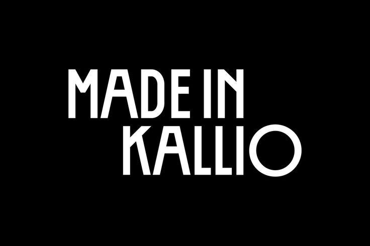 Made in Kallio logo by Erik Bertell