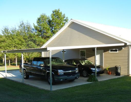 Best 25 lean to carport ideas on pinterest patio lean for Carport with shed attached