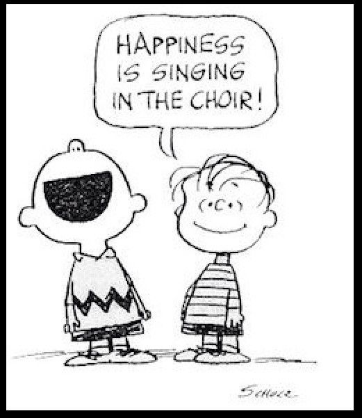 Happiness is singing in the choir #MusicEd #life